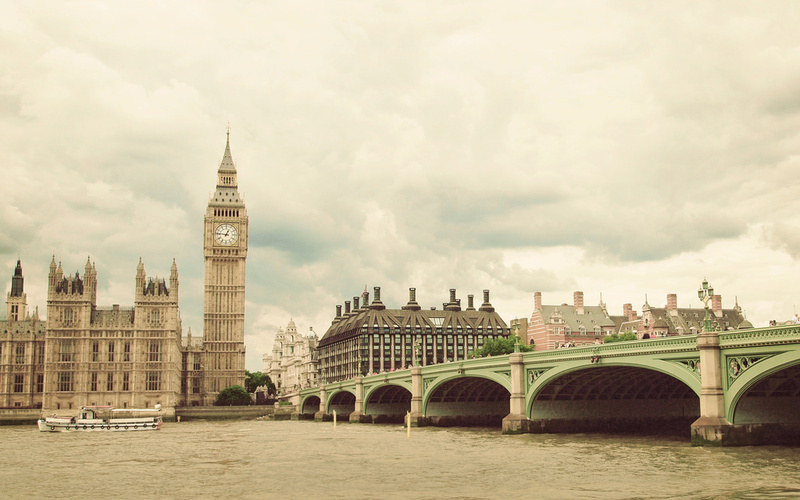 Big Ben Photo. Fine Art Photography. London Photo. Size 11x7""