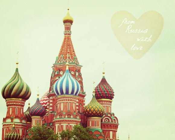 From Russia With Love - St. Basil's Cathedral - Moscow - Fine Art Photography 8x10&quot;